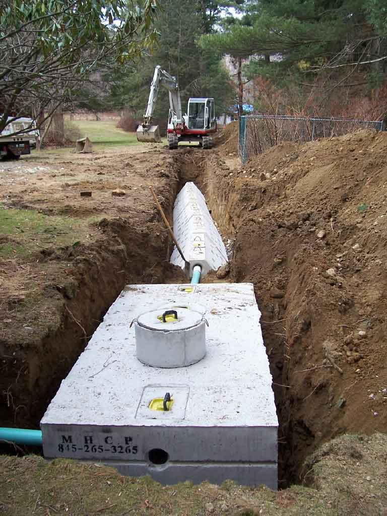 Septic tank installation westchester ny and putnam ny for Septic tank sizes per bedroom